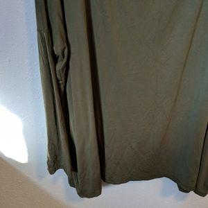 Piko 1988 Tops - Olive Long Sleeve Piko